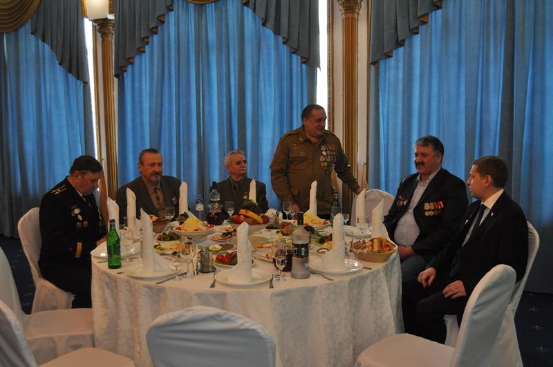 В Южном округе состоялся прием префекта в честь ветеранов Афганистана