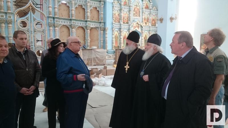 Владимир Ресин на выездном совещании