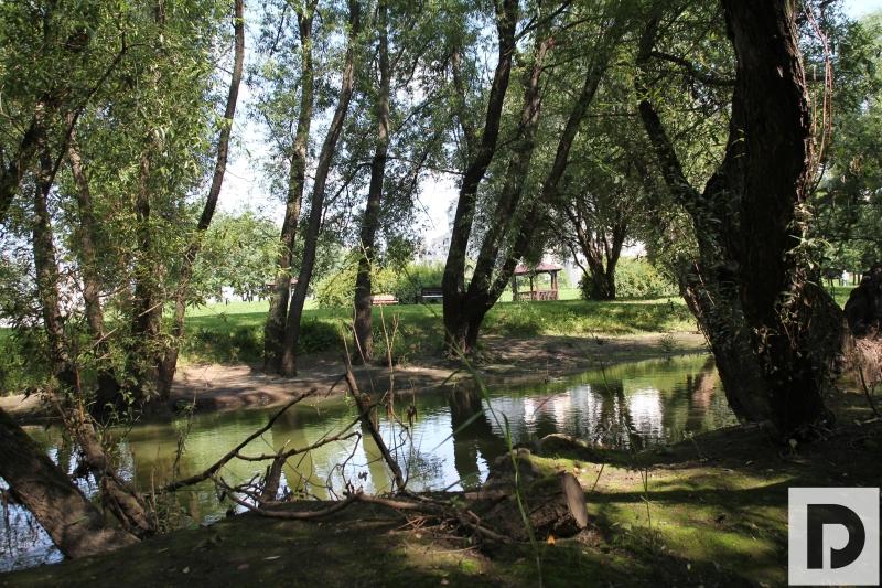 У реки Городня